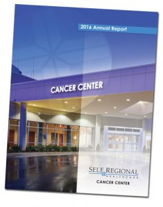 2016 Self Regional Healthcare Cancer Center Report (click image for PDF)