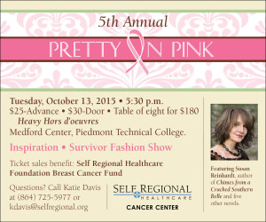 Pretty in Pink Breast Cancer Awareness and Survival Celebration 2015