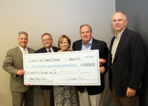 Self Regional Healthcare Foundation Receives 150k from Symetra Womens Health Classic