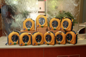 10 AEDs to be given away through grant