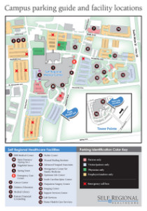 Campus Parking Guide and Facility Locations