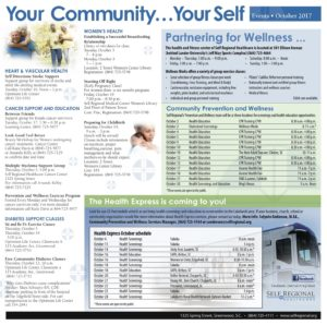 Your Community Your Self October 2017