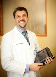 Self Regional's Cancer Center offers comprehensive cancer care to residents of the Lakelands region, and includes the latest treatments in medical oncology and radiation oncology. Medical oncology is led by cancer specialists Brian Hunis (pictured), M.D.; Joanna Sadurski, M.D.; and Elena Vician, M.D.