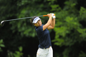Mitsuki Katahira during the Four Winds Invitational at Blackthorn Golf Club in South Bend, Indiana on June 22, 2013. Photo ©2013 Scott A. Miller.