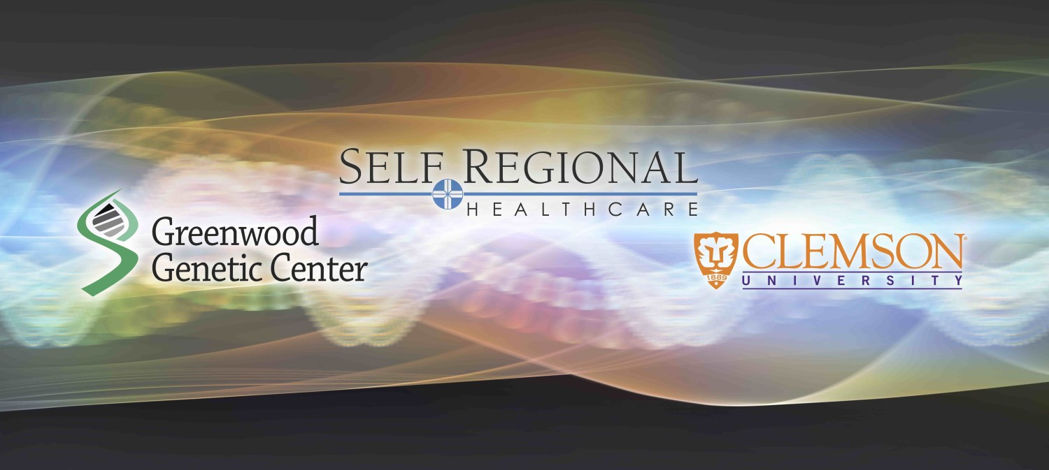 Self Regional Healthcare, Clemson, and the Greenwood Genetic Center have announced a partnership to create a national hub for human genetics research.