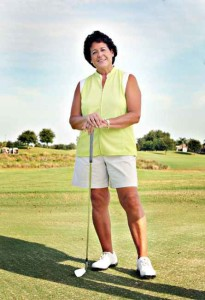 World Golf Hall of Famer Nancy Lopez will attend the Self Regional Healthcare Foundation's Mid-Winter Ball in Greenwood to award a Pro-Am golf experience package to one lucky bidder at the ball's silent auction. The package is donated by the Self Regional Healthcare Foundation Women's Charity Classic organizers Jim and Denise Medford, who own the Links at Stoney Point.