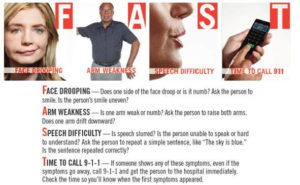 Know the Signs of a Stroke and act F.A.S.T.