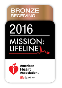 Mission Lifeline Bronze Receiving Award