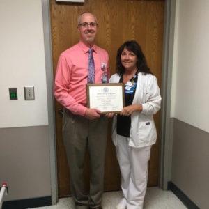 Jeffrey Thomas, M.D., and Sharon Turner, BSN, RN