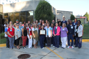Team members of the Self Regional Healthcare Emergency Care Center