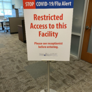 Visitor restrictions in place for all Self Regional facilities beginning Friday, March 20, 2020, including the hospital
